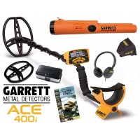 Garrett Ace 400i + Pro-Pointer AT MEGA ACTIE!!!!!