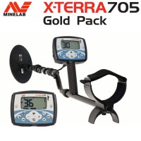 Showroommodel Minelab X-terra 705 Special GOLD package
